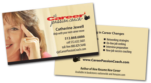 Career Passion Coach business card