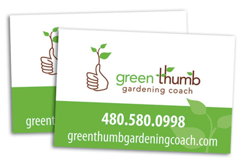 Green Thumb vehicle magnets