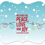 5x7 Ornate - Peace, Love, Joy (FRONT)