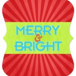 7x5 Ornate - Merry &amp; Bright (FRONT)