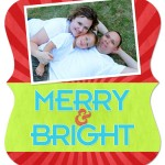 7×5 Ornate – Merry & Bright – FRONT