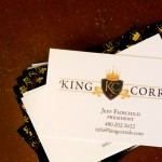Project Spotlight: King Corrals Logo and Business Card