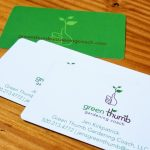 Green Thumb Business Cards