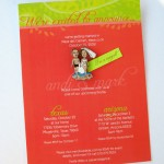Here Comes the Bride…with the most beautiful and personal custom-designed invitations