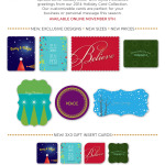 Sneak Peek… Our 2014 Holiday Card Collection