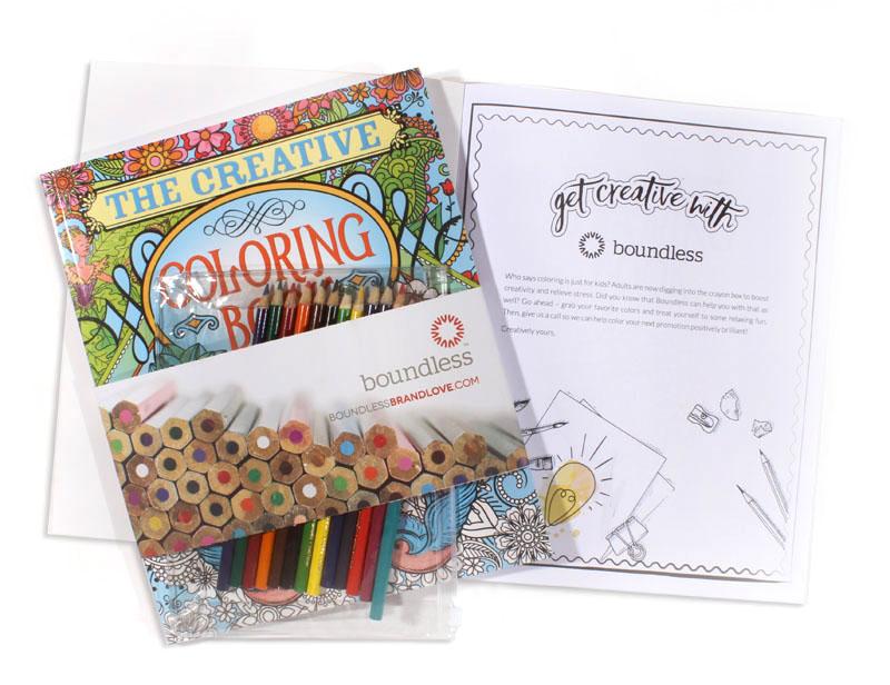 Custom Coloring Book Promo
