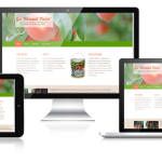 Go Natural Paint Web Design